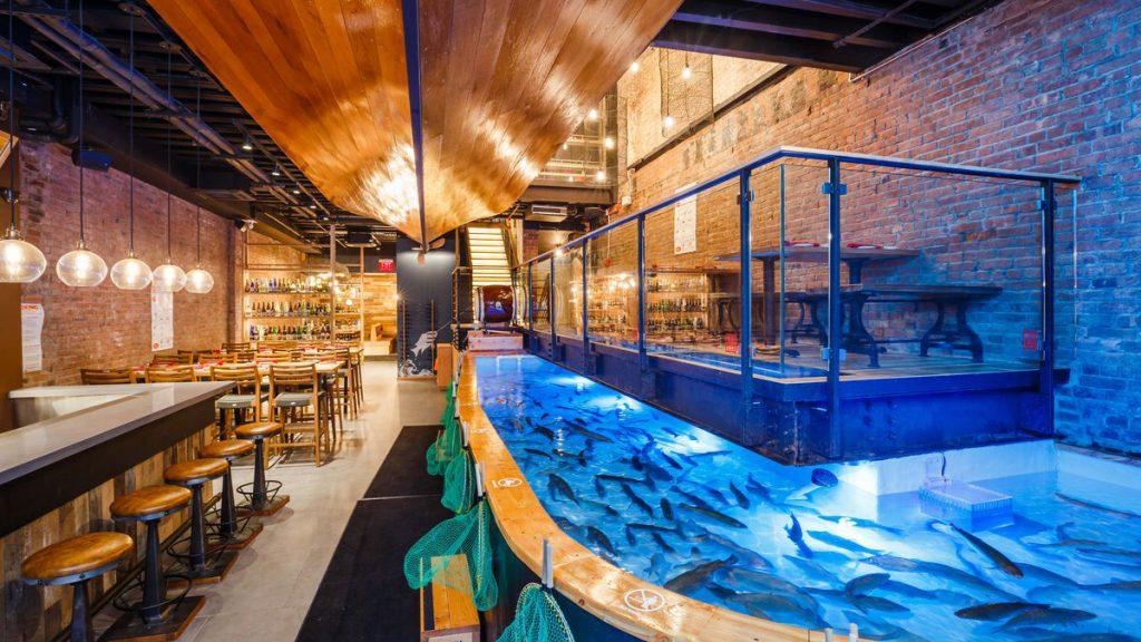 Få en ny fiskerestaurant opplevelse i Oslo